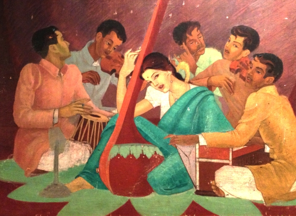 The Lady with a Tanpura